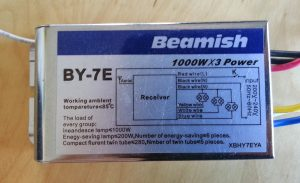 Figure 2: Beamish BY-7E light controller