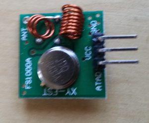 Figure 4: 433 MHz transmitter