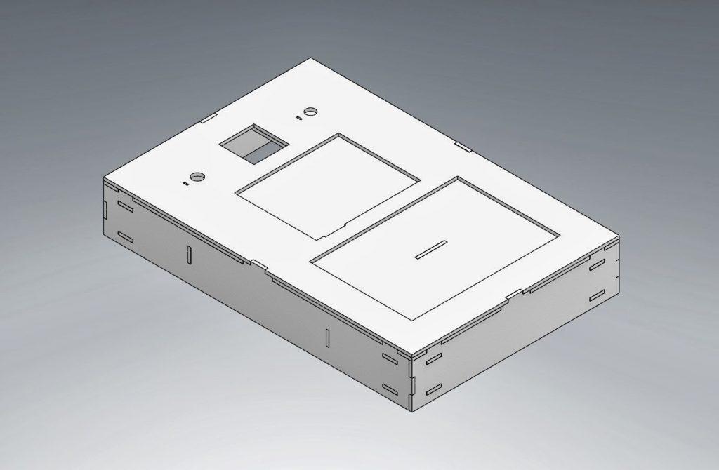 Figure 7: Main hardware enclosure non see true