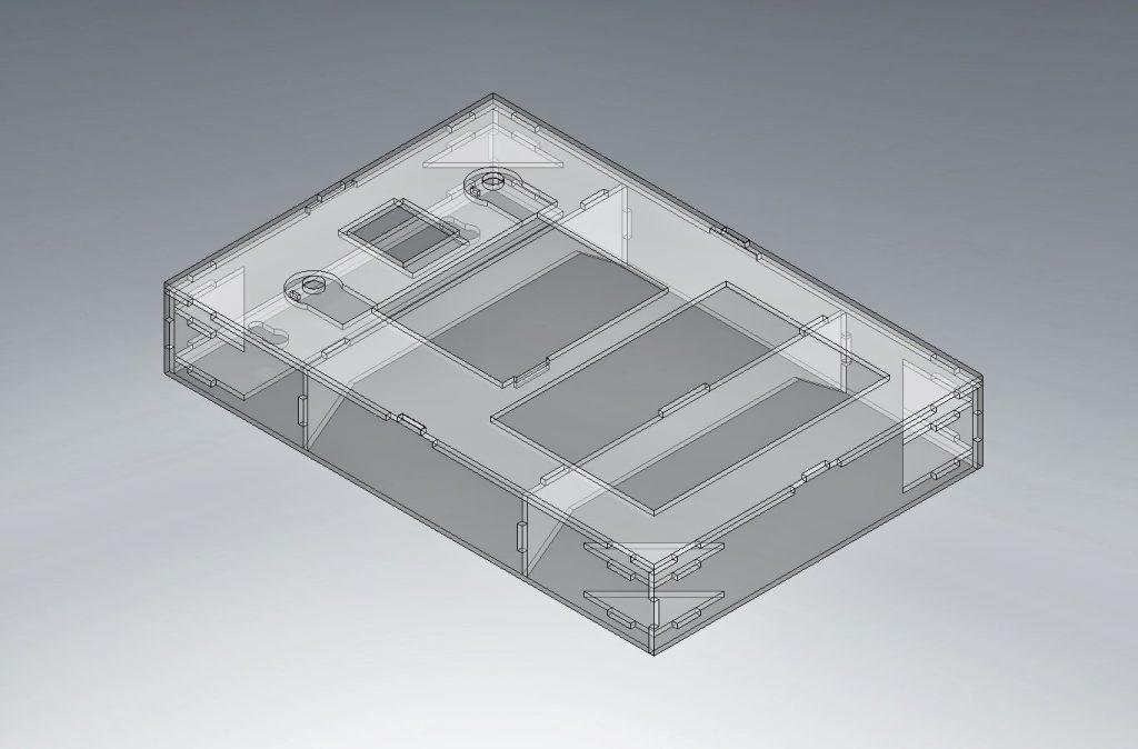 Figure 8: Main hardware enclosure see true
