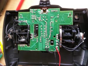 Figure 1: Original non-functional PCB