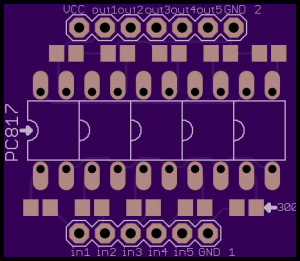 Figure t: Photocoupler board top